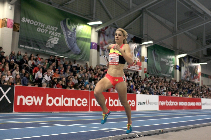 Sarah Brown New Balance Indoor Grand Prix